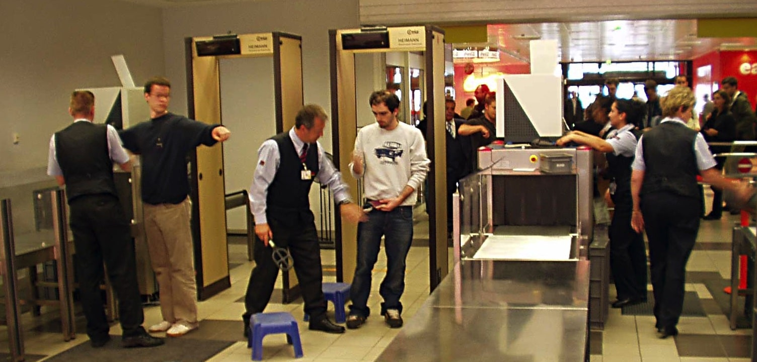 joint replacement and airport security